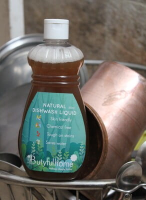 Natural Dishwash Liquid - 250 ml