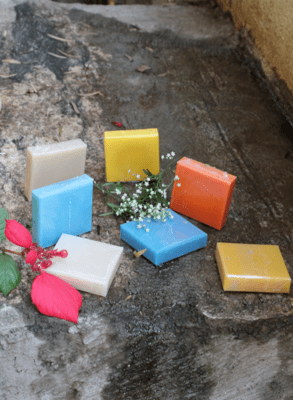 Stress relief bar - Mustard oil and Shea butter natural soaps