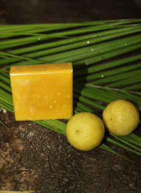 Coconut oil and Shea butter lime- Natural Soap with lime